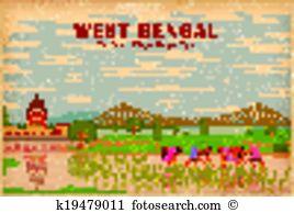 West bengal Clipart EPS Images. 27 west bengal clip art vector.