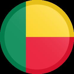 Benin flag clipart.