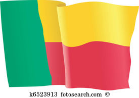 Benin flag Clipart and Illustration. 412 benin flag clip art.