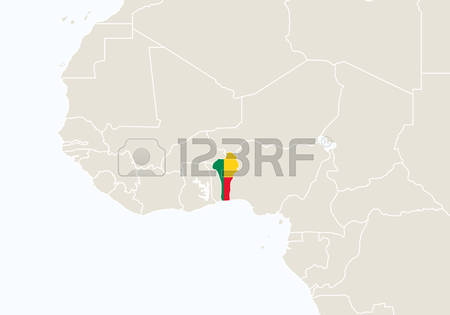 840 Benin Map Cliparts, Stock Vector And Royalty Free Benin Map.