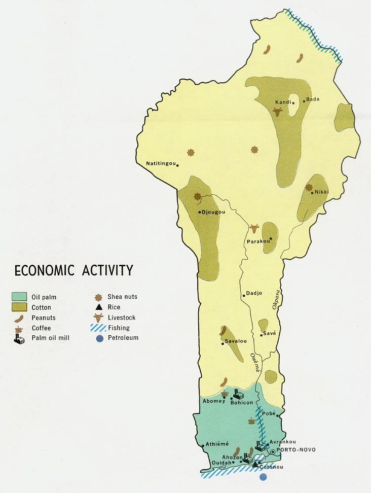 Benin Maps.