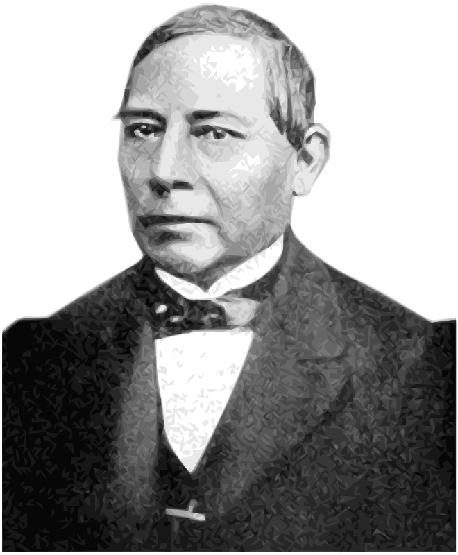 Free Clipart: Benito Pablo Juárez García 26th President of Mexico.