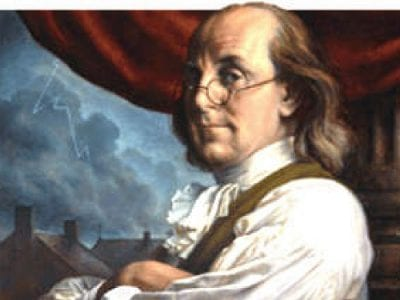 "Ben Franklin: ""…There are Two Passions Which have a Powerful."