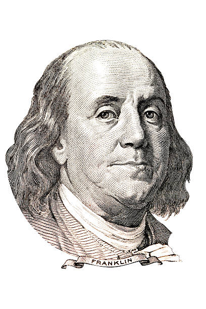 Benjamin Franklin portrait » Clipart Station.