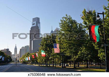 Pictures of Ben Franklin Parkway in Philadelphia x75336548.