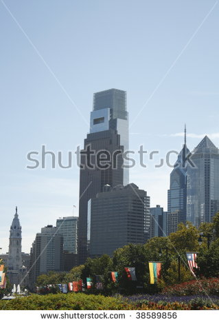 Franklin Parkway Stock Photos, Royalty.