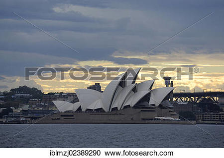 "Stock Photography of ""Sydney Opera House at Bennelong Point."
