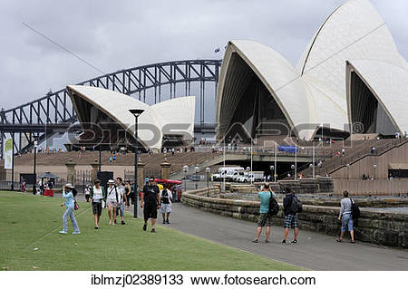"Stock Photo of ""Sydney Opera House on Bennelong Point, Sydney."
