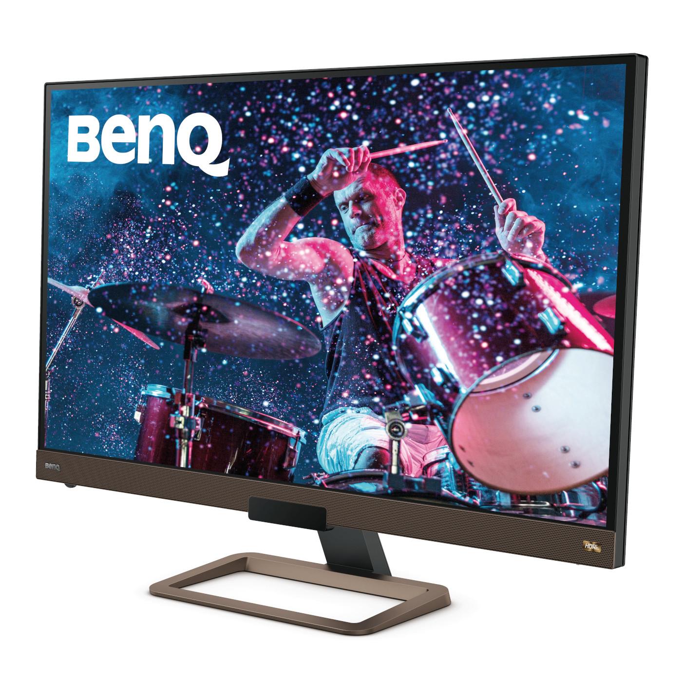 BenQ EW3280U 4K IPS Monitor HDR Freesync for movie entertainment.
