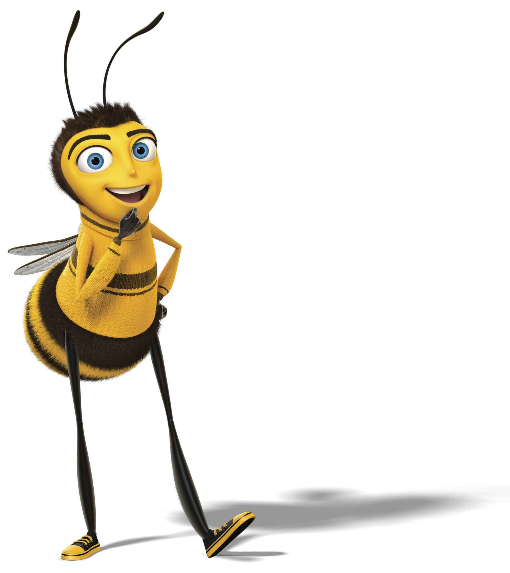 Moving Clipart Bee.