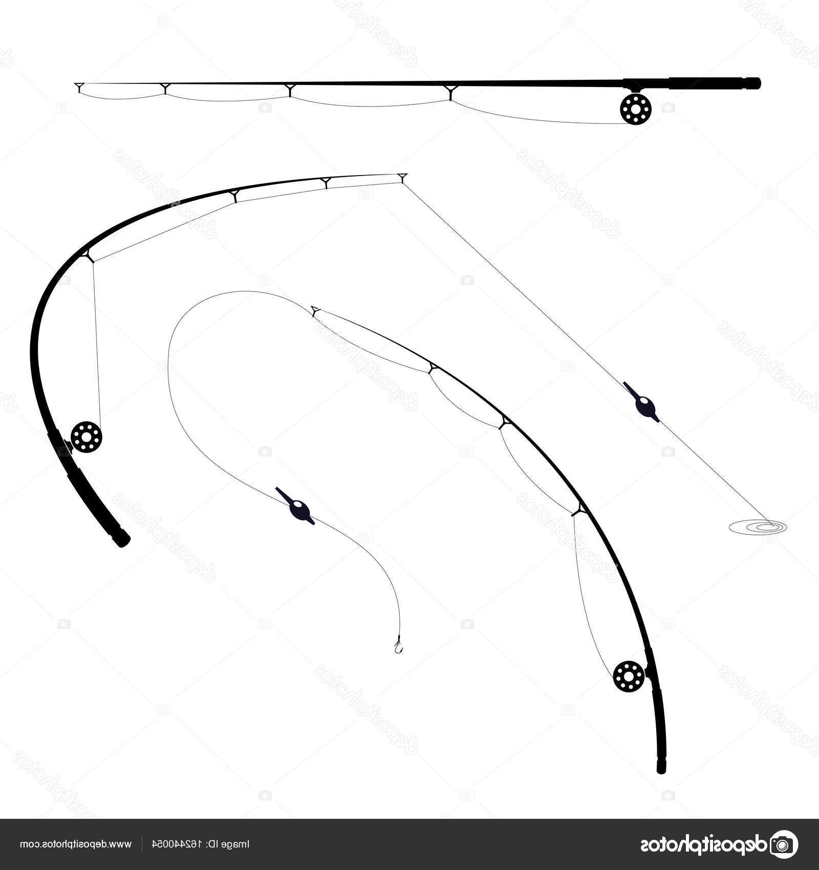 Best HD Bent Fishing Pole Vector Cdr » Free Vector Art.