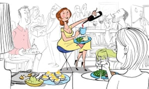 The new rules of dinner parties: don\'t be on time.