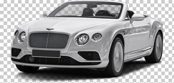 White Convertible Bentley, gray convertible PNG clipart.