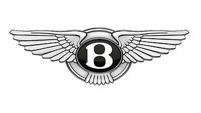BENTLEY LOGO EMBLEM DECAL STICKER 3M USA MADE TRUCK VEHICLE WINDOW WALL CAR.