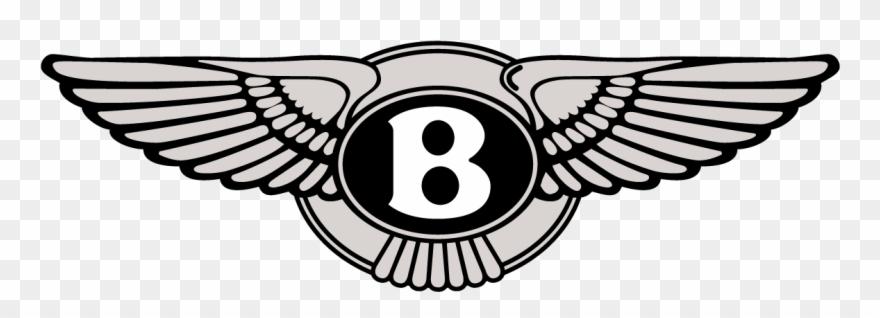 Bentley Wings Badge Logo Vector Clipart (#3050686).