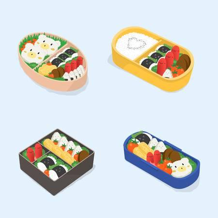 252 Bento Box Cliparts, Stock Vector And Royalty Free Bento Box.