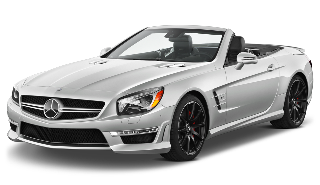 White_Mercedes_Benz_Sl_2014_Car_PNG_Clipart.