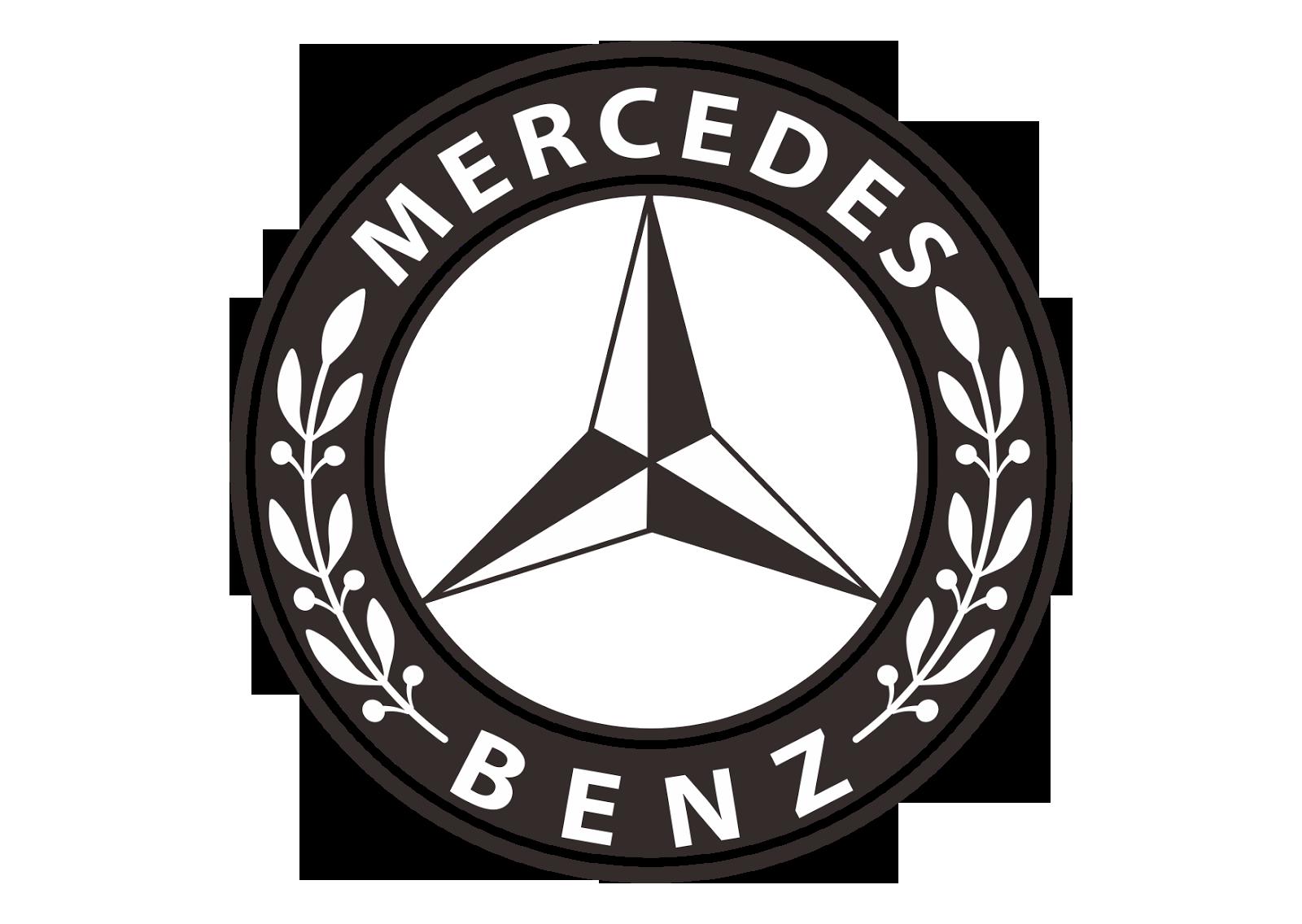 Mercedes benz logo clipart.