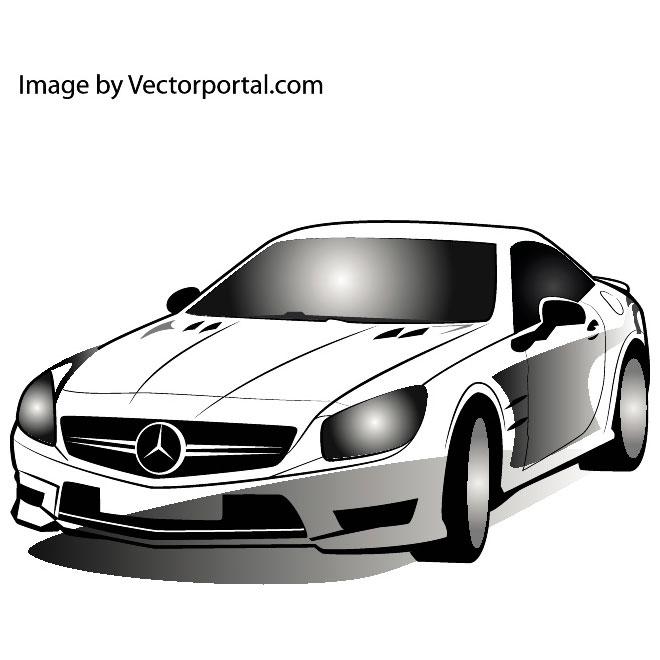 Mercedes clip artr.