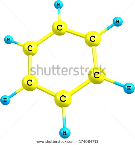 Benzene Ring Stock Photos, Royalty.