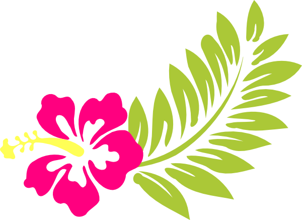 Beach Clip Art Flowers.