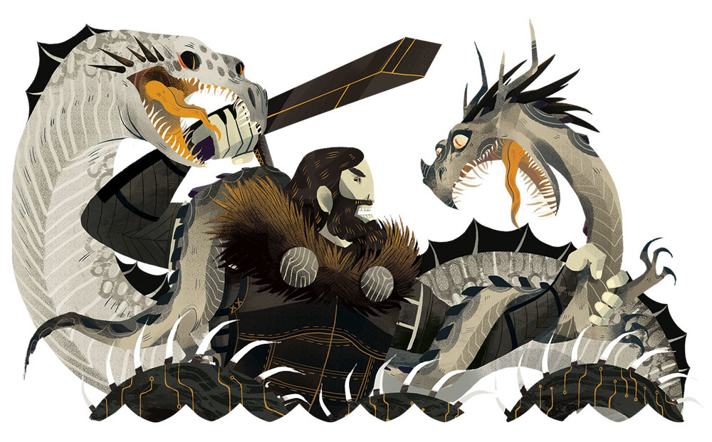 Beowulf clipart 4 » Clipart Station.
