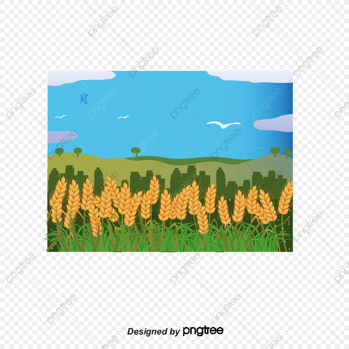 Kartun Ladang Sawah Itu Scarecrow, Scarecrow, Beras, Beras PNG dan.