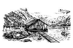 Berchtesgaden Stock Illustrations.
