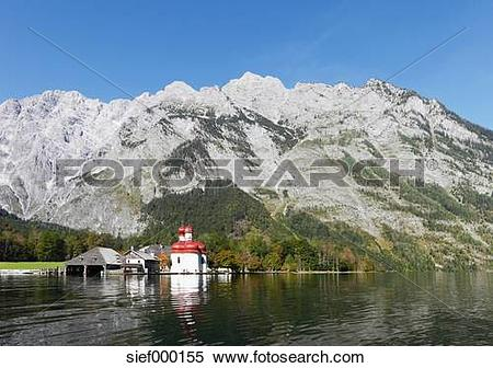 Stock Image of Germany, Bavaria, Upper Bavaria, Berchtesgaden.