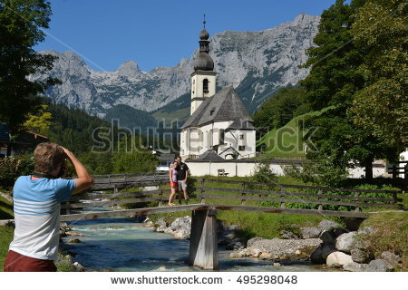 Ramsau Stock Photos, Royalty.
