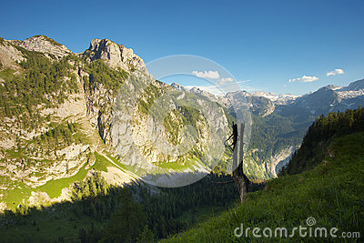 Berchtesgaden Stock Photo.