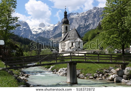 Berchtesgaden Stock Photos, Royalty.