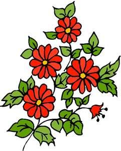 Bereavement Flowers Clipart.