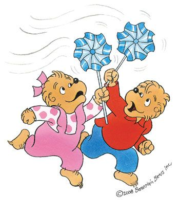 Berenstain Bears Printable Coloring Pages.