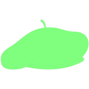 Green beret clipart.