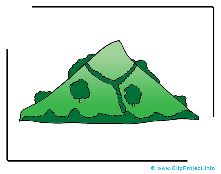 Clipart berg.