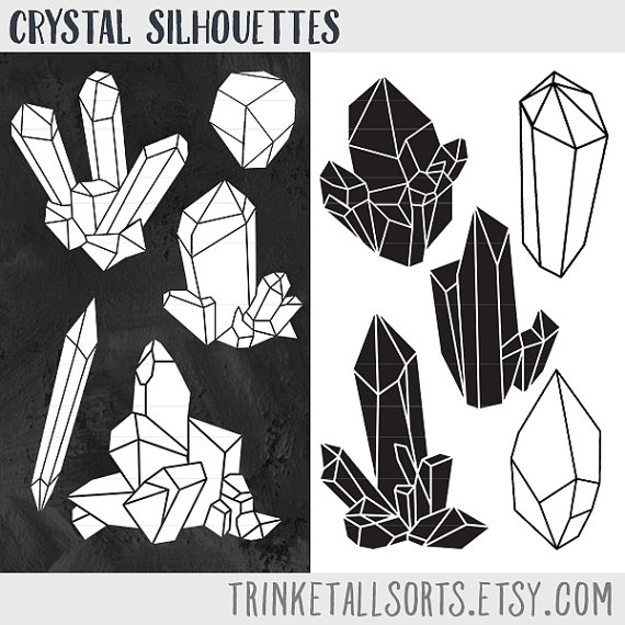 Clipart crystal.