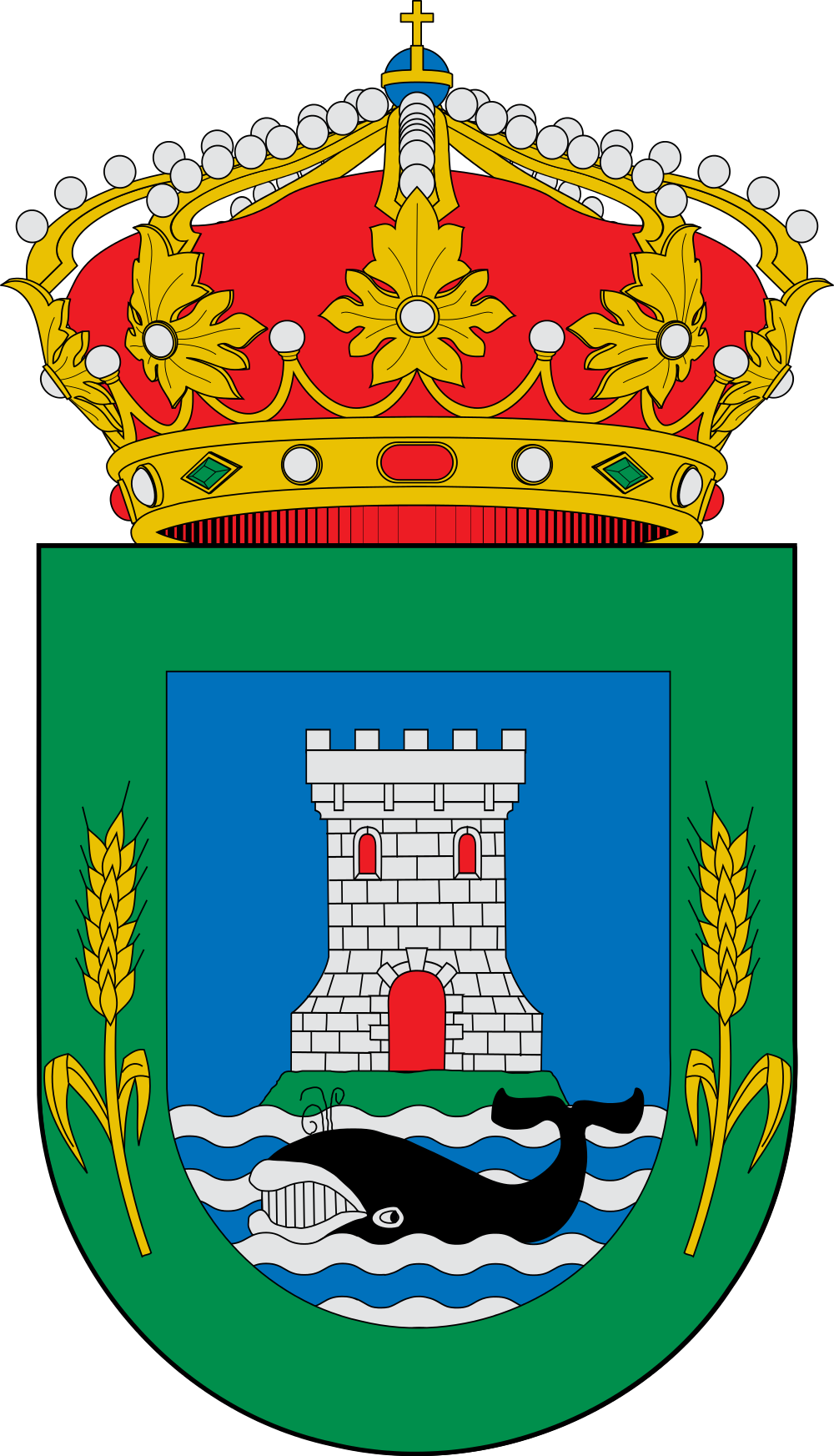 File:Escudo de Laracha.svg.