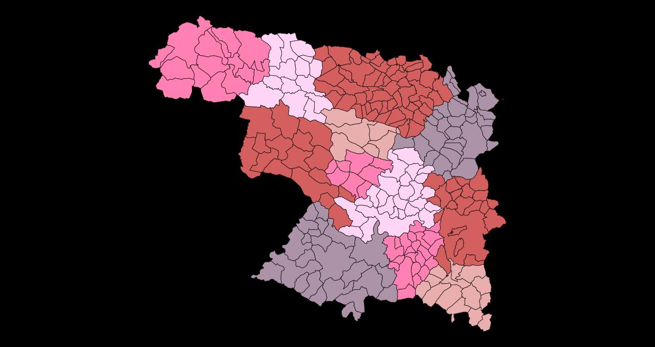 Comarcas of Spain.