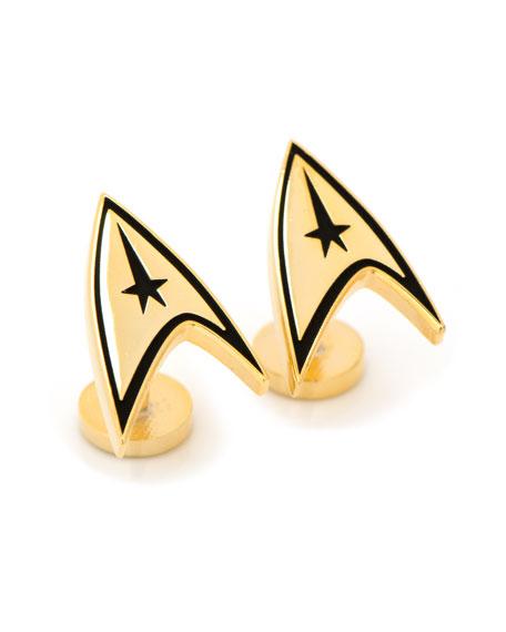 Star Trek Delta Shield Gold.