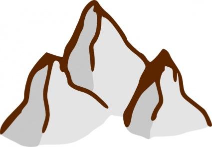 Spiel Karte Symbole Berge ClipArt cliparts, clipart.