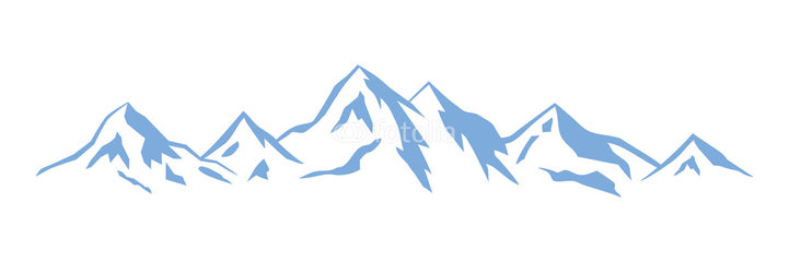 Schweizer berge clipart.