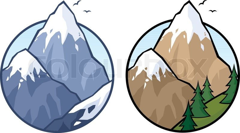 Berge clipart - Clipground