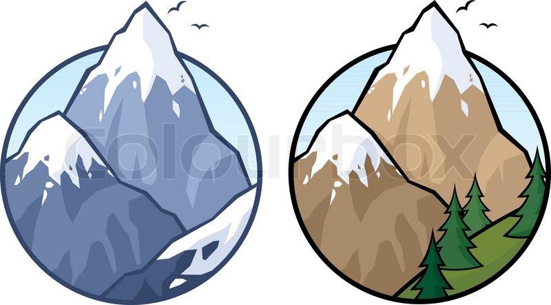 Gletscher clipart.