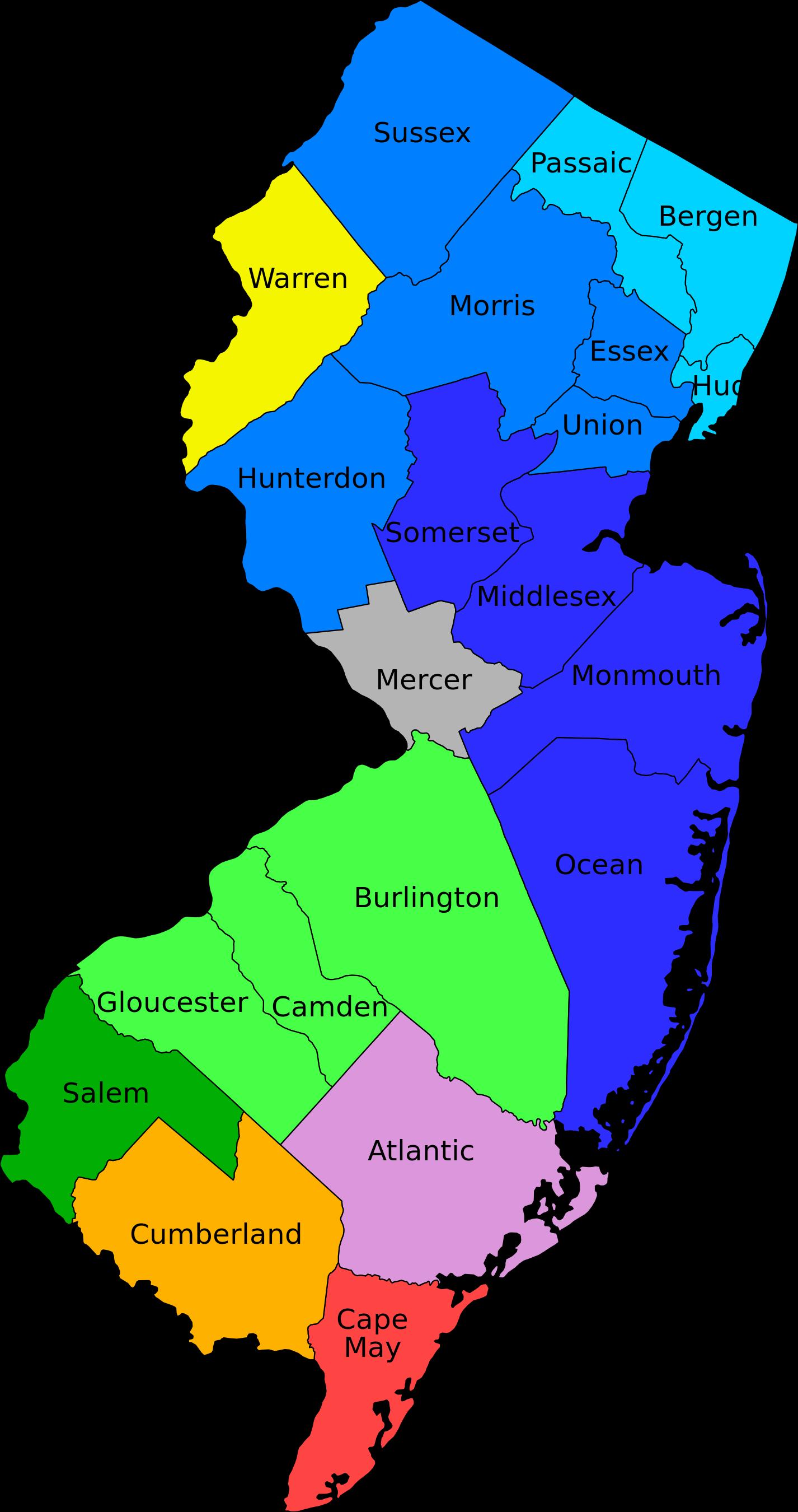 New Jersey Clip Art.