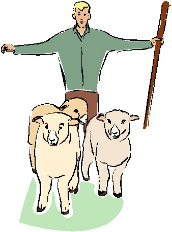 Shepherd Clipart.