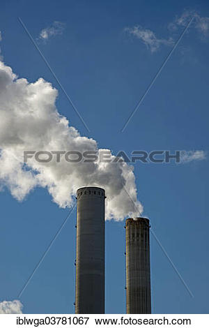 "Picture of ""Niederaussem Power Station, lignite."