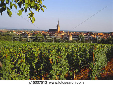 Stock Photo of Bergheim, Alsace, France x15007513.