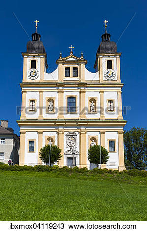Stock Photo of Pilgrimage church of Maria Plain, Bergheim.