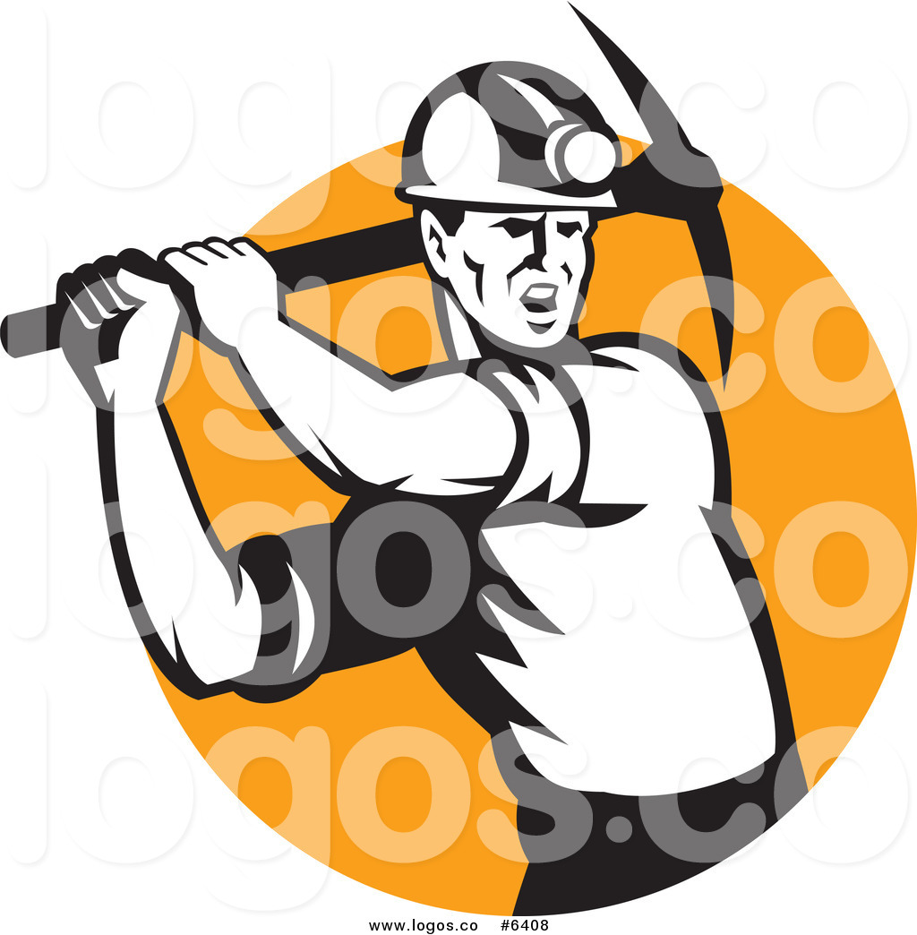 Coal miner clipart no copyright.
